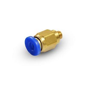 Iespraudiet dzelksnis ar taisnu šļūteni 6 mm vītne M5 PC06-M05