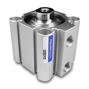 Kompakti pneimatiskie cilindri CQ2 63x20