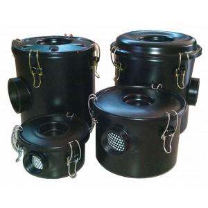 Gaisa filtrs ar korpusu virpuļveida gaisa sūknim, sānu kanāla ventilators, 1 1/2 collu