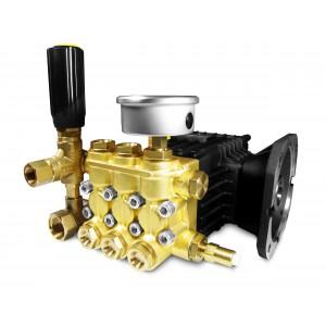 Spiediena sūknis WS15 mazgāšanai ar piederumiem 15 l / min, maksimāli 250 bar ekvivalents CAT350