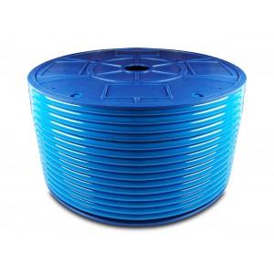 Poliuretāna pneimatiskā šļūtene PU 6/4 mm 200m zila