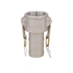 Camlock savienotājs - C tips 1 1/4 collu DN32 alumīnijs