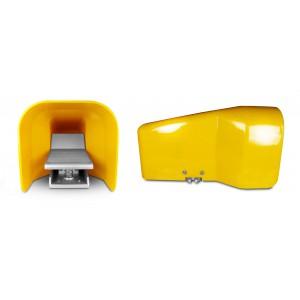 Pēdas vārsts, gaisa pedālis 5/2 1/4 collas cilindram 4F210G - monostams ar pārsegu