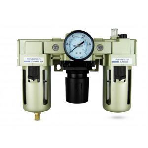 Filtra dehidratora regulatora smērviela FRL 1/2 collu iestatīta uz gaisu AC4000-04