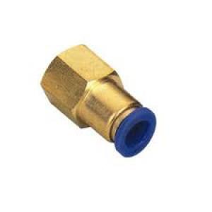 Iespraudiet nipeļa šļūteni 6 mm iekšējā vītne 1/4 collu PCF06-G02