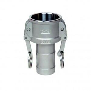 Camlock savienotājs - tips C 1/2 collu DN15 SS316