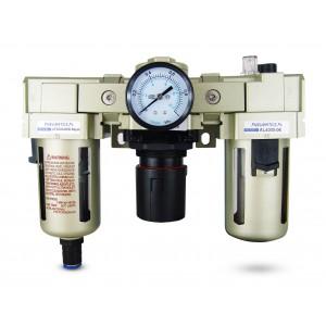 Filtra dehidratora regulatora smērviela FRL 3/4 collu, kas iestatīta uz gaisu AC4000-06D