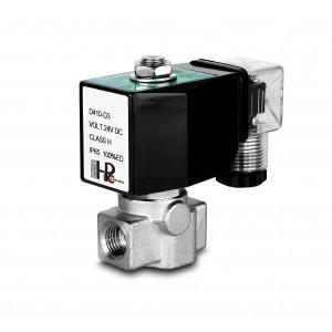 Augstspiediena solenoīda vārsts HP15-M nerūsējošais tērauds SS304 110bar