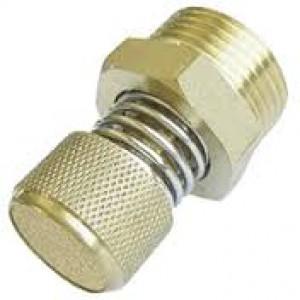 Gaisa izplūdes trokšņa slāpētājs ar plūsmas regulatoru BESLD 3/8 collas