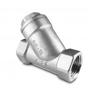 Leņķa filtru iestatītājs 1 collu nerūsējošais tērauds SS304