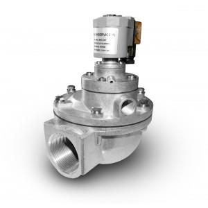 Impulsa solenoīda vārsts filtru tīrīšanai 1 1/2 collu MV45T