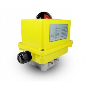 Lodveida vārsta elektriskais izpildmehānisms A250 230V AC 25Nm