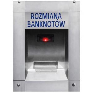 Naudas mainītājs banknotēm automazgātavā (ūdensnecaurlaidīgs)
