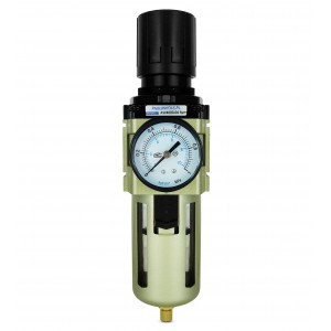 Filtra dehidratora reduktora regulatora manometrs 1/2 collas AW4000-04