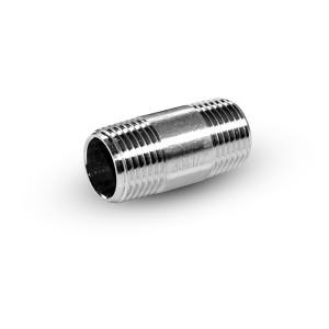 Cauruļu nipelis no nerūsējošā tērauda 1/2 collas 42 mm