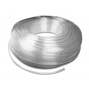 Poliuretāna pneimatiskā šļūtene PU 6/4 mm 1m trans.
