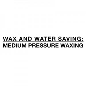 Taupot ūdeni un vasku - vidēja spiediena vaskošana