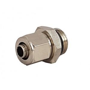 Ātrie savienojumi caurulei 6/4 ar vītni 1/8 collu RPC 6/4-G01