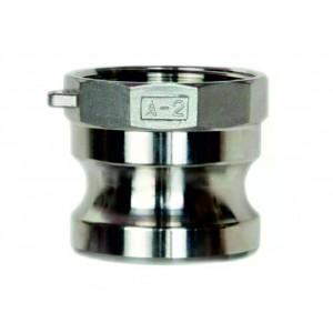 Camlock savienotājs - tips A 1/2 collu DN15 SS316