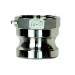 Camlock savienotājs - tips A 1 1/4 collu DN32 SS316